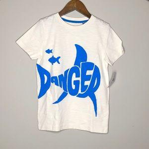 NWT Mini Boden Fluoro Graphic T-Shirt 6-7Yr